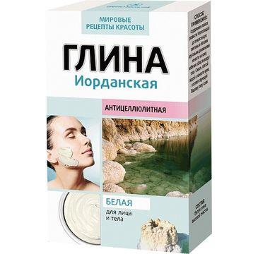 Fitokosmetik glinka do cery tłustej biała jordańska ściągająca pory (100 g)