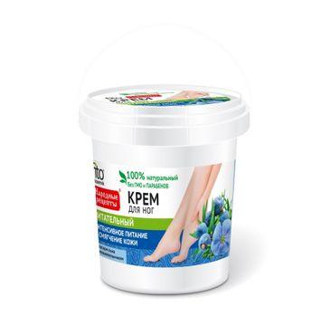 Fitokosmetik Przepisy Ludowe krem do stóp odżywczy - wiaderko (155 ml)