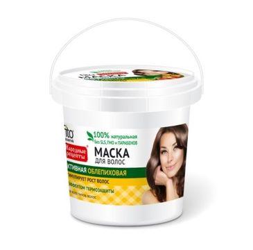 Fitokosmetik Przepisy Ludowe maska do włosów stymuluje wzrost wiaderko (155 ml)