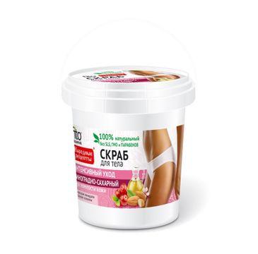 Fitokosmetik Przepisy Ludowe Scrub peeling do każdego typu skóry winogronowo-cukrowy pielęgnujący (155 ml)