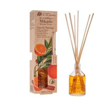 Flor De Mayo–  Botanical Essence olejek aromatyczny z patyczkami Cynamon z Pomarańczą (50 ml)