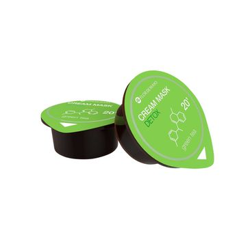 Flor De Mayo Cream Mask Detox kremowa maska do twarzy Zielona Herbata 10ml