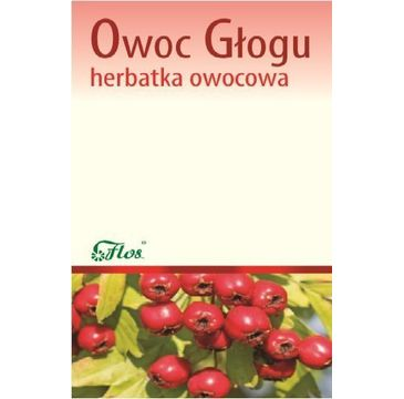 Flos Herbatka Owocowa Owoc Głogu 50g