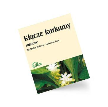 Flos - herbatka ziołowa kłącze kurkumy suplement diety (100 g)