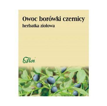 Flos Herbatka ziołowa Owoc Borówki Czernicy 50g