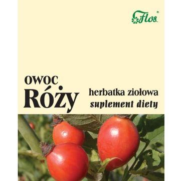 Flos Herbatka ziołowa Owoc Róży suplement diety 50g
