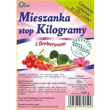 Flos Mieszanka Stop Kilogramy z Berberysem 100g