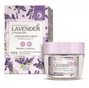 Floslek Lavender  lawendowe pola Lawendowy krem nawilżający na dzień i na noc (50 ml)