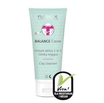 Floslek Balance T-zone glinka myjąca 2w1 125 ml