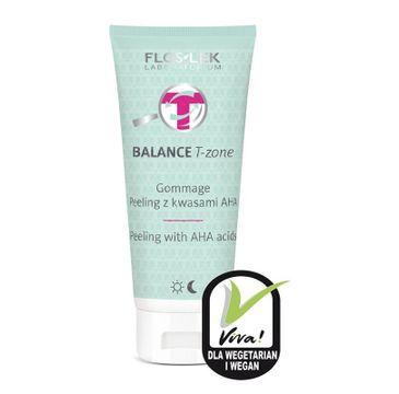Floslek Balance T-zone Gommage Peeling z kwasami AHA 125 ml