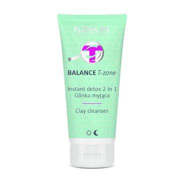 Floslek Balance T-zone Instant Detox 2in1 glinka myjąca 125ml
