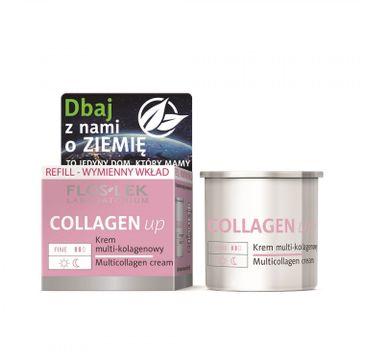Floslek Collagen up – krem multi-kolagenowy -  wkład wymienny (50ml)