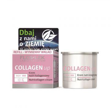 Floslek Collagen up – krem nutri-kolagenowy -  wkład wymienny (50ml)