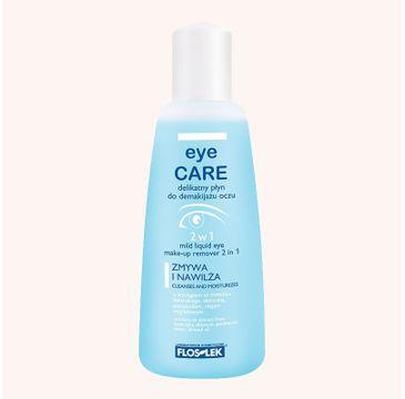 Floslek delikatny płyn do demakijażu oczu 2 w1 135 ml