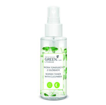 Floslek Green for skin Zielone warzywa – woda tonizująca z ogórkiem (95ml)