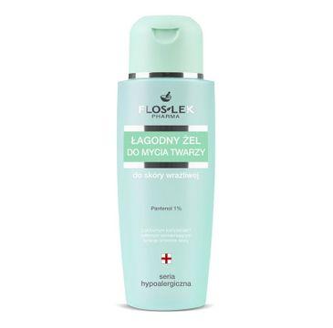 Floslek Hypoalergiczna Żel do mycia twarzy łagodny 150 ml