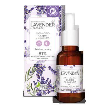 Floslek Lavender lawendowe pola Anti-Aging Olejek z lawendÄ… (30 ml)