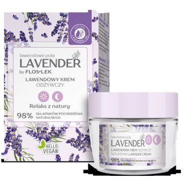Floslek Lavender lawendowe pola Lawendowy krem odżywczy na dzień i na noc (50 ml)