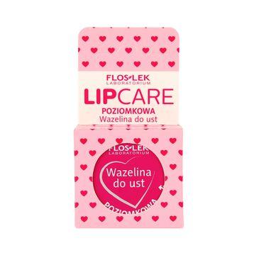 Floslek Lip Care Wazelina do ust Poziomka 15 g