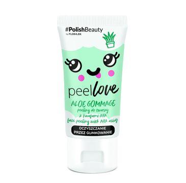 Floslek – PeelLove Peeling do twarzy z kwasami AHA Aloe Gommage (75 ml)