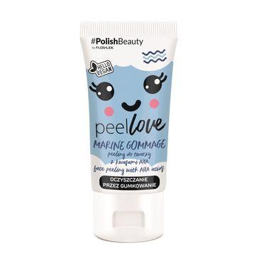 Floslek – PeelLove Peeling do twarzy z kwasami AHA Marine Gommage (75 ml)