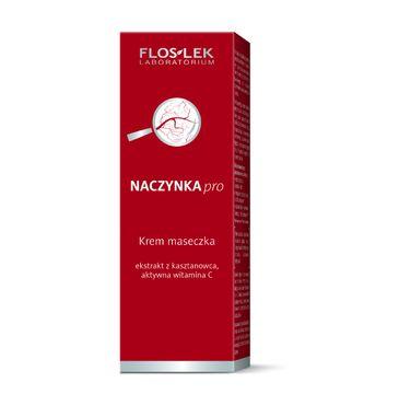 Floslek Pielęgnacja krem-maseczka do cery naczynkowej zmniejsza zaczerwienienia tuba 75 ml
