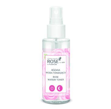 Floslek Rose for skin różane ogrody różana woda tonizująca (95ml )