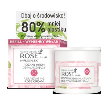 Floslek – Różany krem odmładzający na dzień, wymienny wkład (50 ml)