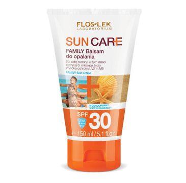Floslek Sun Care balsam do opalania familijny SPF 30 wysoka ochrona 150 ml