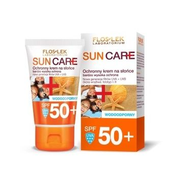 Floslek Sun Care ochronny krem na słońce SPF 50+ bardzo wysoka ochrona UVA/UVB 50 ml