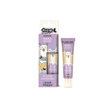Floslek – Vege Lip Care Maska Do Ust Stylowa Gruszkowa (14 g)
