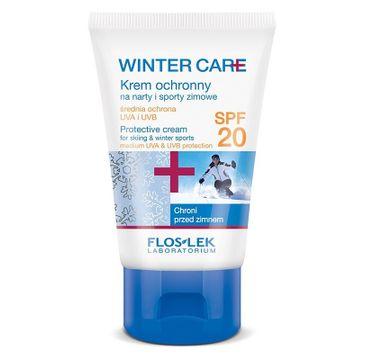 Floslek Winter Care krem do cery normalnej i suchej ochronny na sporty zimowe SPF20 50 ml