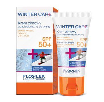 Floslek Winter Care krem do każdego typu skóry ochronny przeciwsłoneczny SPF50+ 30 ml