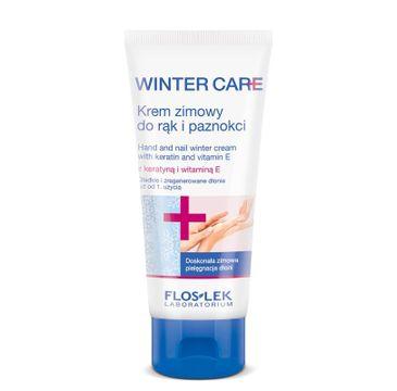 Floslek Winter Care krem do rąk i paznokci przynosi ulgę 100 ml