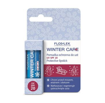 Floslek Winter Care pomadka do ust ochronna SPF 20 1 szt.