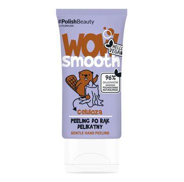 Floslek Wow Smooth! Peeling do rąk delikatny Celuloza (50 g)