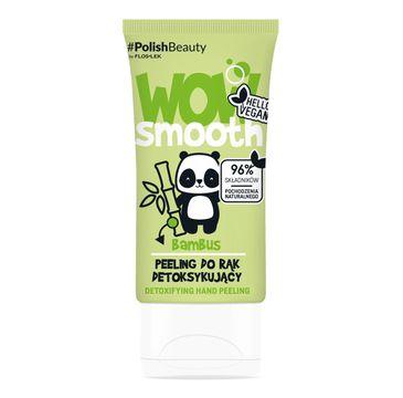 Floslek Wow Smooth! Peeling do rąk detoksykujący Bambus (50 g)