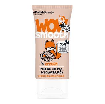 Floslek Wow Smooth! Peeling do rąk wygładzający Orzech (50 g)