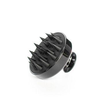 Foamanizer Silicone Shampoo Brush szczotka-masażer do mycia włosów Czarna (1 szt.)