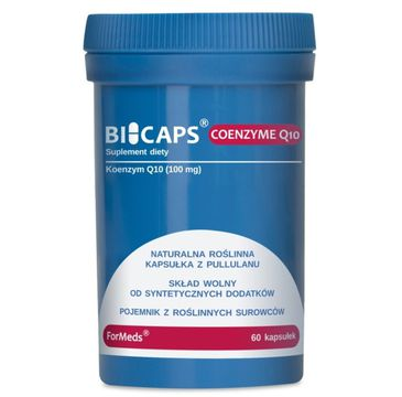 Formeds Bicaps Coenzyme Q10 suplement diety 60 kapsułek