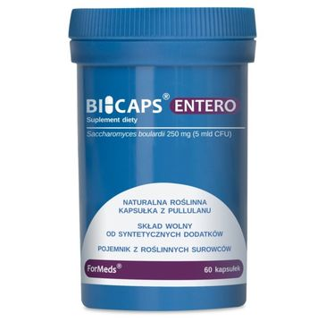 Formeds Bicaps Entero suplement diety 60 kapsułek