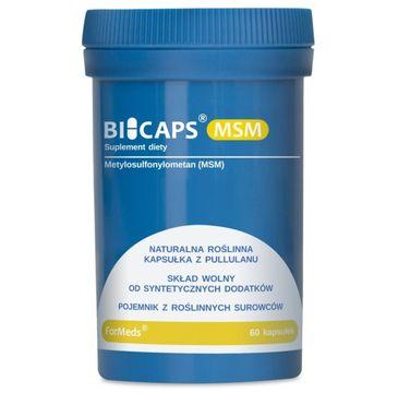 Formeds Bicaps MSM suplement diety 60 kapsułek