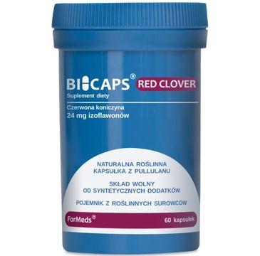Formeds Bicaps Red Clover ekstrakt z czerwonej koniczyny suplement diety 60 kapsułek