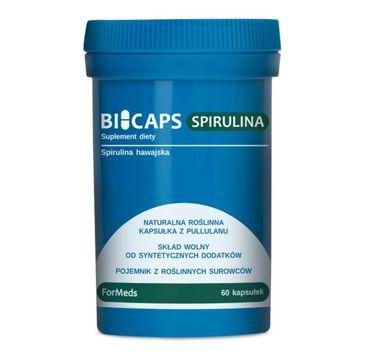 Formeds Bicaps Spirulina Hawajska suplement diety 60 kapsułek