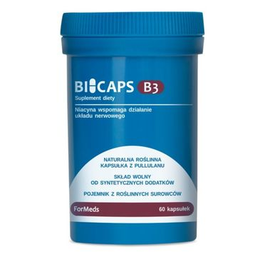 Formeds Bicaps Witamina B3 suplement diety 60 kapsułek
