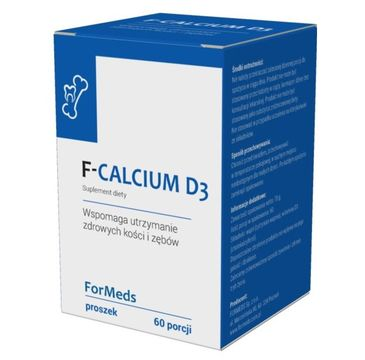 Formeds F-Calcium D3 suplement diety w proszku