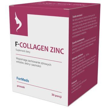 Formeds F-Collagen Zinc suplement diety w proszku
