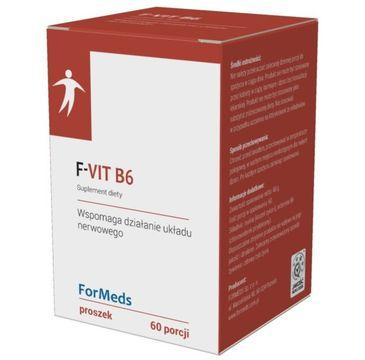 Formeds F-Vit B6 suplement diety w proszku