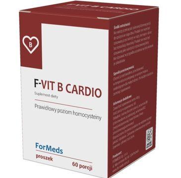 Formeds F-Vit B Cardio suplement diety w proszku