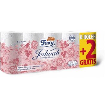 Foxy Jedwab papier toaletowy 8+2 rolki (1 op.)